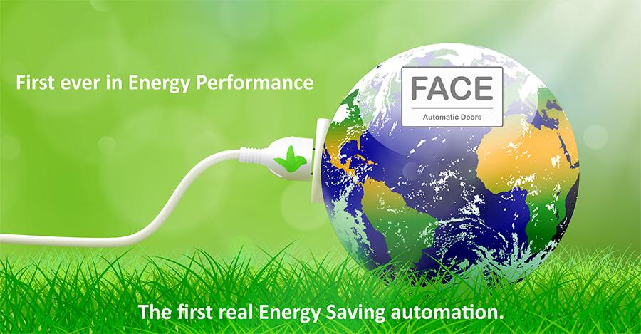 Αυτομάτες πόρτες face πρώτες στην εξοικονόμηση ενέργειας