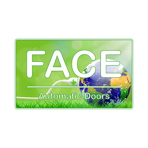 Face automatic doors Logo