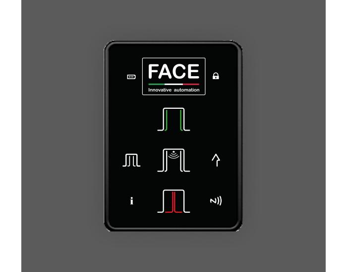 Face τηλεκοντρόλ για την διαχείριση αυτόματων θυρών