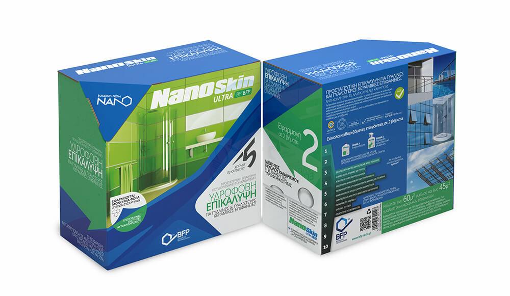 Υδρόφοβο επικαλυπτικό film Nano Skin το οποίο προστατέυει από την διάβρωση. Ιδανικό για ανοιγόμενες ντουζιέρες
